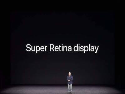 نمایشگر سوپر رتینا