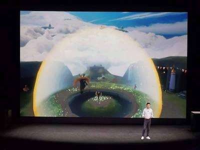 واقعیت مجازی اپل