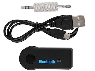 دانگل تبدیل بلوتوث به aux برای اتصال گوشی به ضبط ماشین و هر وسیله که دارای ورودی صدا می باشد.