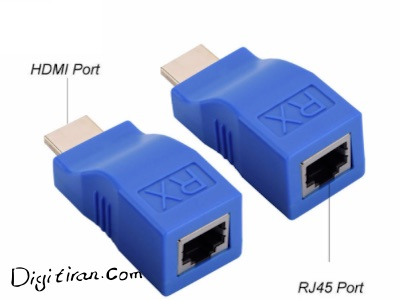 اکستندر HDMI تک کابل ۳۰ متر