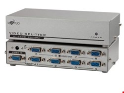 اسپلیتر 1 به 8 پورت VGA با آداپتور