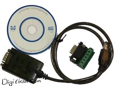 مبدل صنعتی USB به سریال RS485