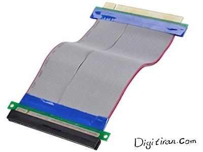 کابل فلت رایزر گرافیک PCIE 16X