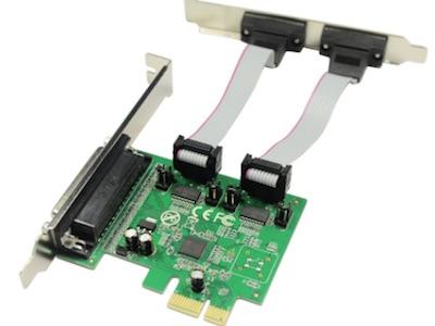 کارت سریال و پارالل کومبو PCI-E