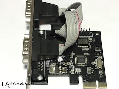 کارت PCI Express سریال