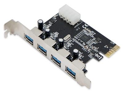 کارت ۴ پورت PCI Express USB 3.0