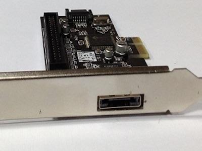 کارت اینترنال / کارت PCI-E ساتا و IDE