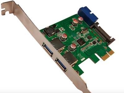 کارت PCI Express USB 3.0 |کارت USB3.0 | کارت یو اس بی 3