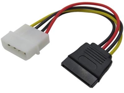 تبدیل برق نری SATA به مادگی IDE
