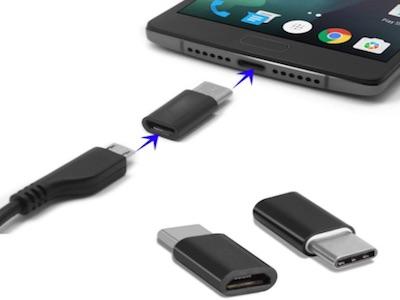 تبدیل TYPE-C به میکرو USB OTG