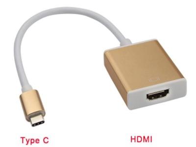 تبدیل تایپ سی به اچ دی ام ای | تبدیل USB TYPE C به HDMI
