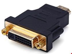 تبدیل DVI مادگی به HDMI نری