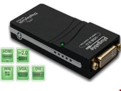 تبدیل USB به VGA +HDMI + DVI